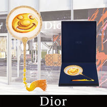 DIOR 21AW新作 DIOR AND KENNY SCHARF FAN Yellow