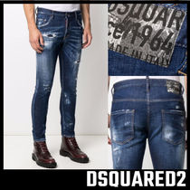 【D SQUARED2】 SKATER JEANS ディースクエアード
