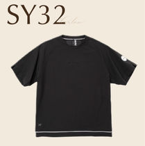 SY32 Tシャツ トップス ロゴ スリット 新作 直営店買付 関税込み