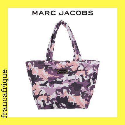 MARC JACOBS☆Camo Print☆ナイロントートバッグ☆ピンク