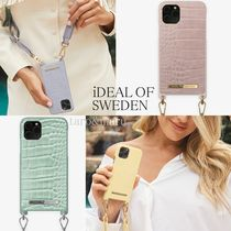 iDEAL OF SWEDEN(アイディール) iPhone・スマホケース 関税*送料込*iDEAL OF SWEDEN*ワニ柄*iPhoneネックレスケース4色