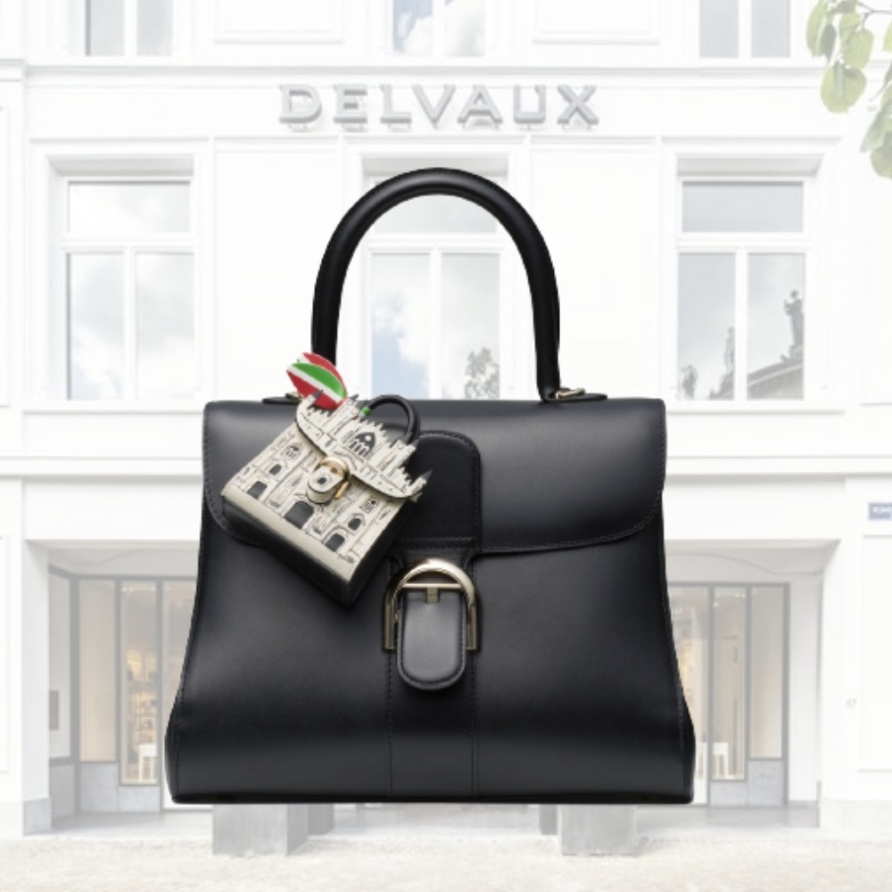 DELVAUX Brillant Charms Duomoen ボックス カーフスキン (DELVAUX/バッグチャーム) 70510818