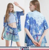 Tommy Jeans★正規品★ボーリングシャツ アロハシャツ/安心追跡