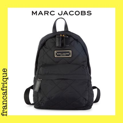 MARC JACOBS☆Quilted Nylon☆ナイロンバックパック☆ブラック