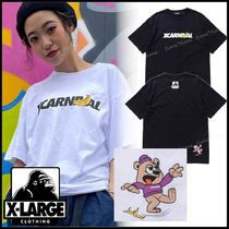 XLARGE×CARNIVAL◆BKK XCARNIVAL S/S TEE 裾のイラスト*COOL☆
