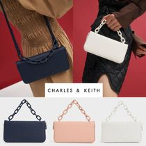 【Charles&Keith】チェーンリンク ロングウォレット