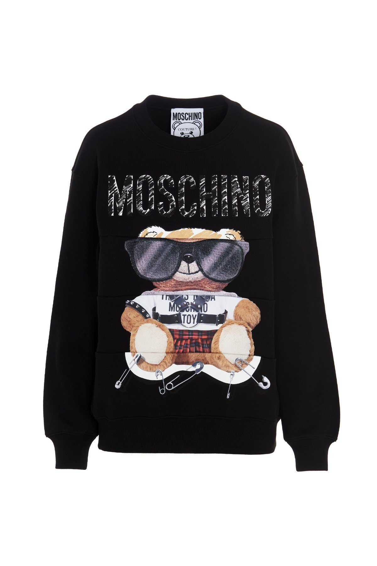 Moschino◎Teddy spectacles スウェットシャツ V171355273555 (Moschino/スウェット・トレーナー) 70533486