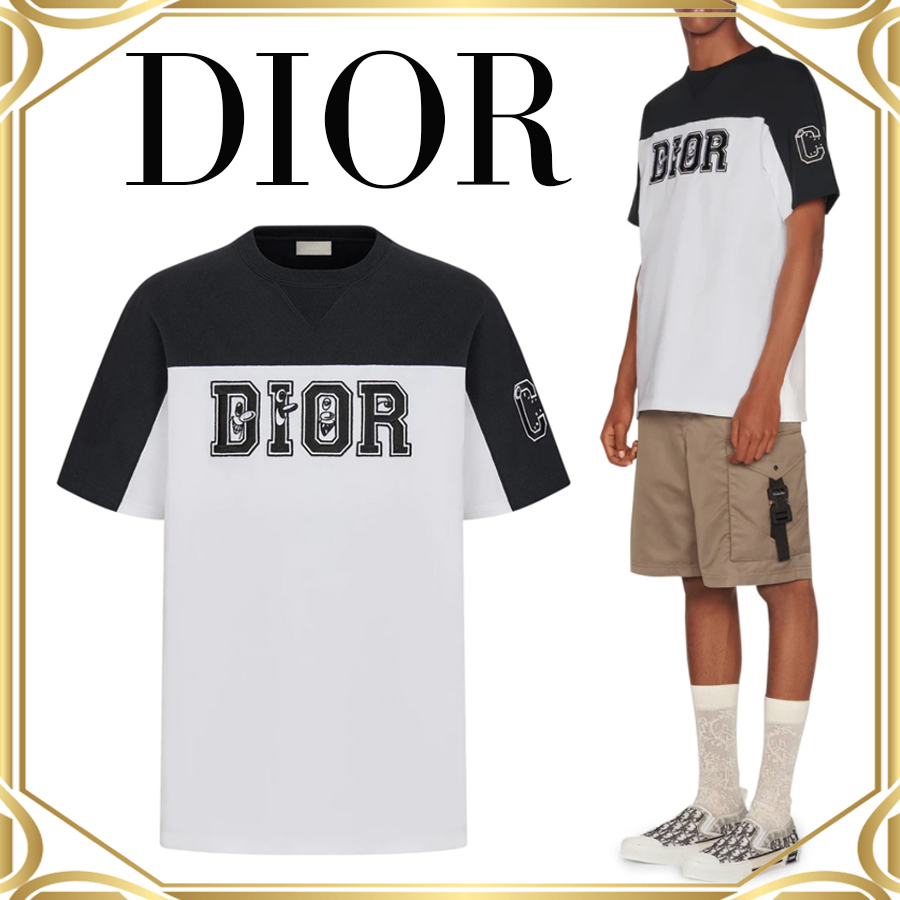 DIOR ディオール AND KENNY SCHARF Tシャツ (Dior/Tシャツ・カットソー) 70537082