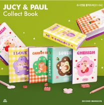 SECOND MANSION☆韓国☆JUCY&PAUL COLLECT BOOK 全4種