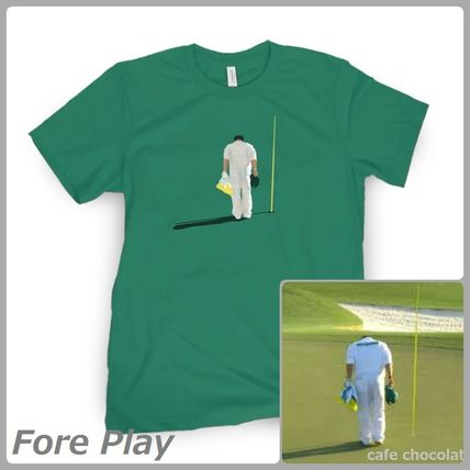【Fore Play】BOW TO THE COURSE 松山英樹キャディー Tシャツ