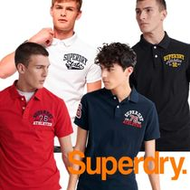 Superdry(極度乾燥しなさい)(Superdry(極度乾燥しなさい)) ポロシャツ 日本未入荷♦Superdry Classic Superstate  Polo Shirt