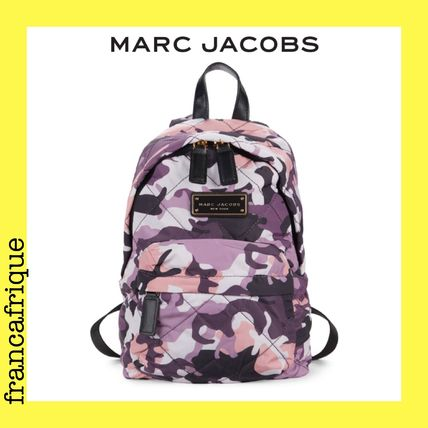 MARC JACOBS☆Quilted Nylon☆ミニバックパック☆ピンクカモ