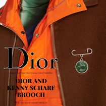 DIOR AND KENNY SCHARF ブローチ