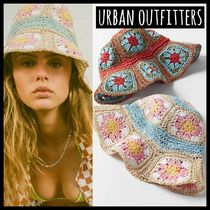 Urban Outfitters(アーバンアウトフィッターズ) ハット 日本未入荷●URBAN OUTFITTERS●お花モチーフが可愛いハット