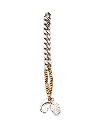 NEW/全て込み◆ Bracelet with chain and skull