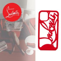 【Christian Louboutin】ルブタンロゴIphone11 Proケース RED