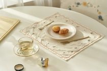 【DECO VIEW】cute embroidered table mat