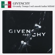 Givenchy Trompe l oeil smooth leather billfold wallet