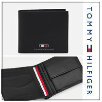 UK発★Tommy Hilfiger TH BUSINESS レザーコイン入れ付き財布