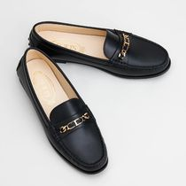 【TOD'S】 CITY GOMINO LEATHER DRIVING SHOES