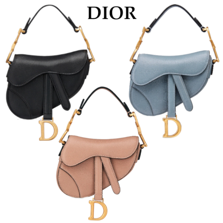 DIOR★SADDLE マイクロバッグ★すぐ届く! (Dior/ショルダーバッグ・ポシェット) S5662CCEH_M900  S5662CCEH_M81B  S5662CCEH_M49P