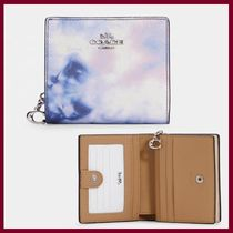 【COACH】Snap Wallet With Tie Dye Print☆
