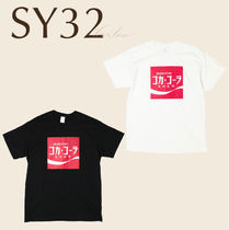 SY32 トップス Tシャツ コカコーラ ロゴ 男 直営店買付 関税込み