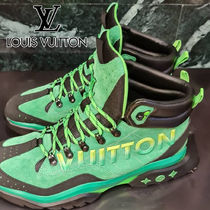 【LV】21AW Millennium ankle boots green スニーカー