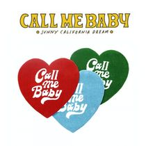 ◆Call Me Baby◆ Heart Logo ラグマット/3カラー