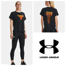 UNDER ARMOUR (アンダーアーマー) Tシャツ・カットソー ★UNDER ARMOUR★Women's Project Rock Bull Short Sleeve