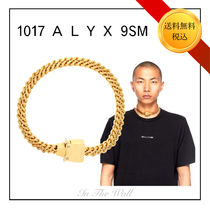 ★VIP★限定SALE!【1017 ALYX 9SM】GOLD Cubix Chain ネックレス