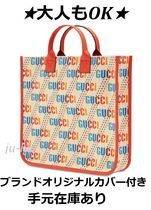 """GUCCI(グッチ) 子供用トート・レッスンバッグ 大人もOK【GUCCI】21-22AW GGキッズショッパー""""スター"""""""