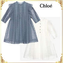 See by Chloe(シーバイクロエ) キッズワンピース・オールインワン Chloe Blue Organza Couture Dress