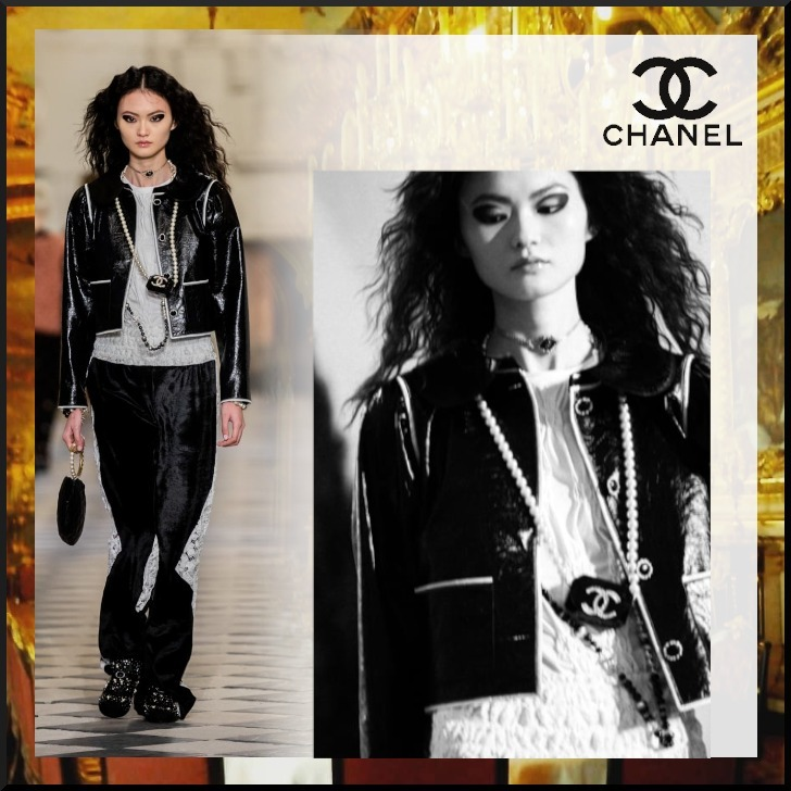 21Metiers d'art エレガントな CHANEL Tシャツ (CHANEL/Tシャツ・カットソー) P71037 K10173 AW005