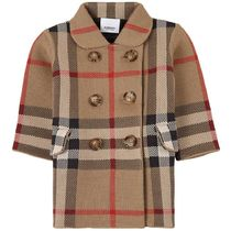 2021AW BURBERRY Baby  CORAチェックコート BE(B-24m)