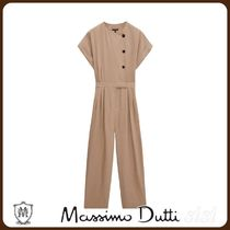 MassimoDutti♪JUMPSUIT WITH SIDE BUTTONS