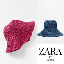 NEW ZARA♡クロシェット編みハット