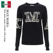 Max mara cannes sweater with m logo