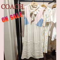 Coach☆ Paint By The Numbers Dress パステルカラーワンピ
