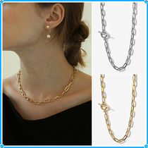 【LAZY DAWN】square chain necklace N002〜チェーンネックレス