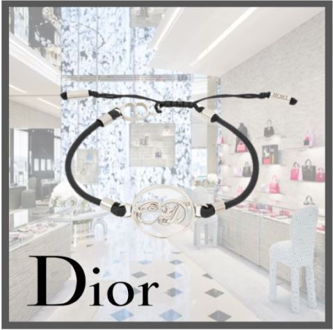 21AW関税込☆Dior☆DIOR AND KENNY SCHARF ブレスレット (DIOR HOMME/ブレスレット) B1349HOMST_D004