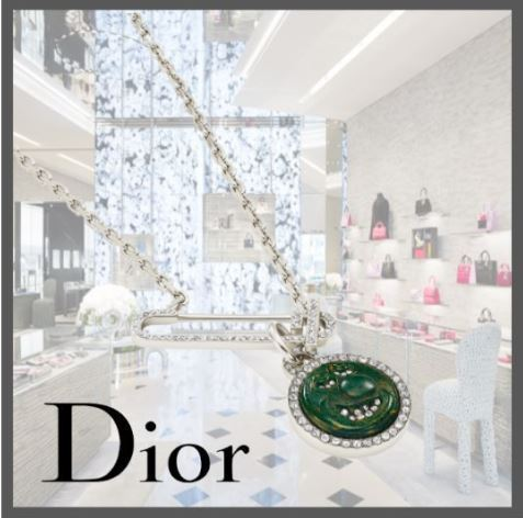 21AW♪関税込☆Dior☆DIOR AND KENNY SCHARF ネックレス (DIOR HOMME/ネックレス・チョーカー) N1442HOMGM_D017