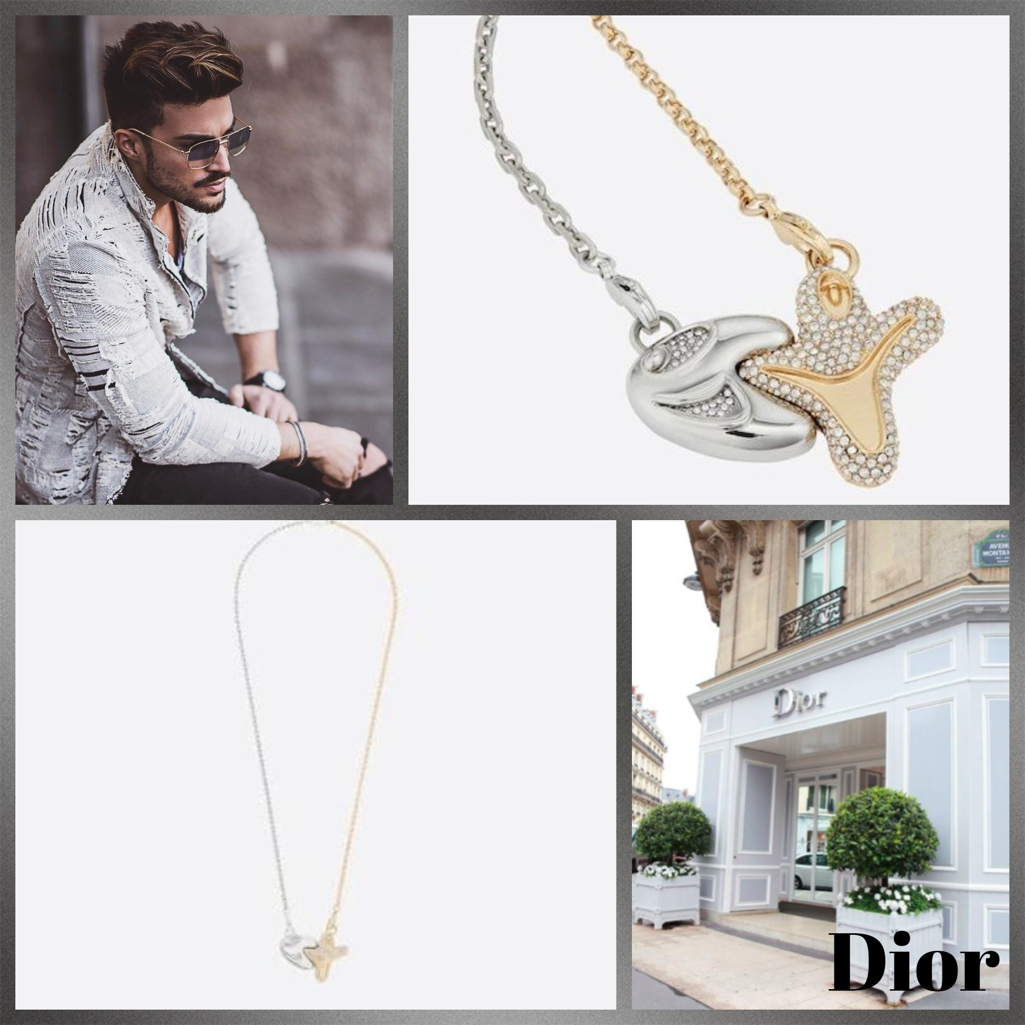 #DIOR直営店買付#DIOR AND KENNYSCHARFペンダントネックレス (Dior/ネックレス・チョーカー) 70740451
