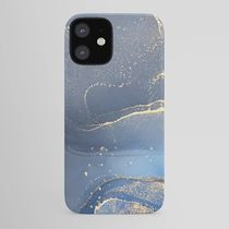 Society6 iPhoneCase & GALAXY Case☆Blue & Gold 2☆