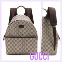 GUCCI LOGO FAUX BACKPACK