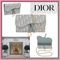 21SS◆モダンでエレガント◆DIOR◆SADDLE WALLET