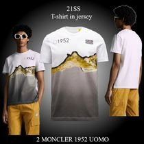 21SS★新作★2 MONCLER 1952 UOMO★T-shirt in jersey Tシャツ