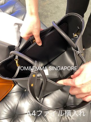 Charles&Keith トートバッグ 【シンガポール】☆CHARLES&KEITH☆ポーチ付 大容量トートバッグ(5)