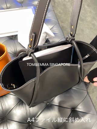 Charles&Keith トートバッグ 【シンガポール】☆CHARLES&KEITH☆ポーチ付 大容量トートバッグ(6)