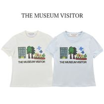 THE MUSEUM VISITOR(ザミュージアムビジター) Tシャツ・カットソー 【THE MUSEUM VISITOR】HOME NATURE PRINTED T-SHIRTS